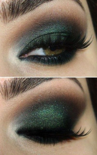 Dark-eyes-for-tremendous-look-4 Hot 2020 Makeup Ideas for Every Girl