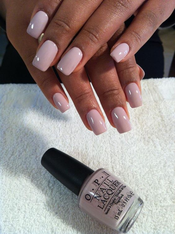 Easy-pink-nail-color-for-short-nails Perfect Ideas for Pink Nails to Finish Feminine Look
