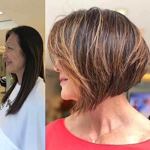 Elegant-Short-Thick-Hair-Trends-6 28 Elegant Short Thick Hair Trends of 2020