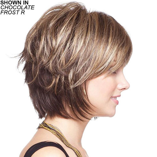 Short-Layered-Hairstyles-for-Thin-Hair-1 Beautiful Short Layered Hairstyles for Thin Hair in 2020