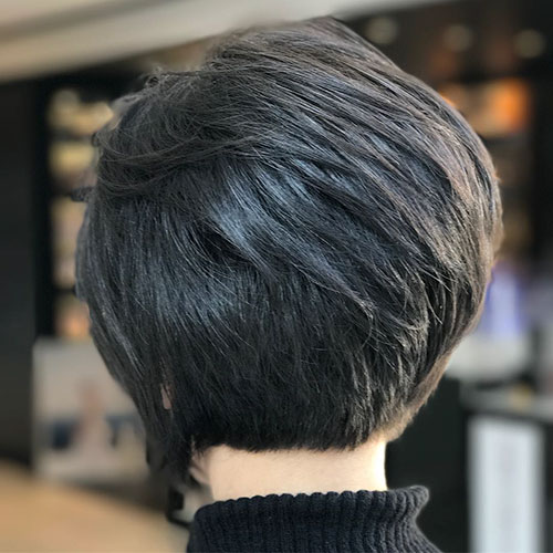 Short-Layered-Hairstyles-for-Thin-Hair-12 Beautiful Short Layered Hairstyles for Thin Hair in 2020