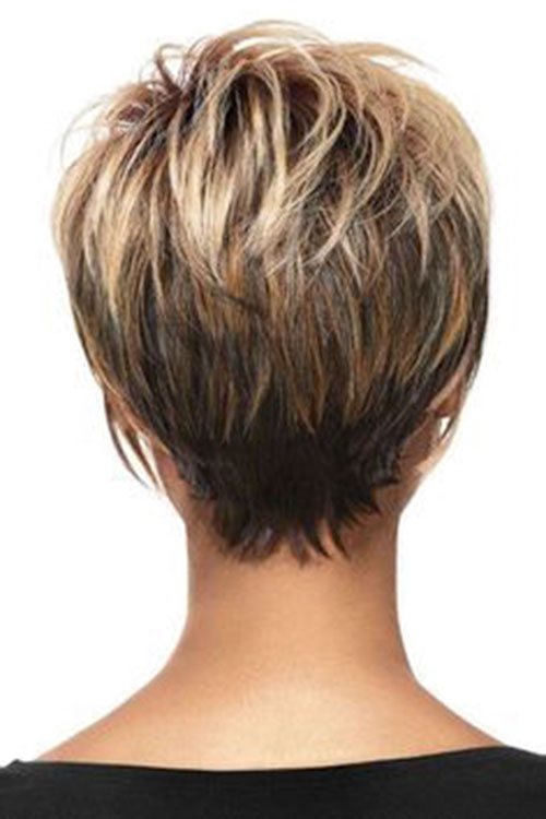 Short-Layered-Hairstyles-for-Thin-Hair-3 Beautiful Short Layered Hairstyles for Thin Hair in 2020