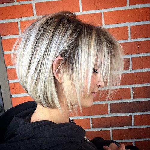 Straight-Bob-Hairstyle- Trendy Short Haircuts That You'll Love This Season