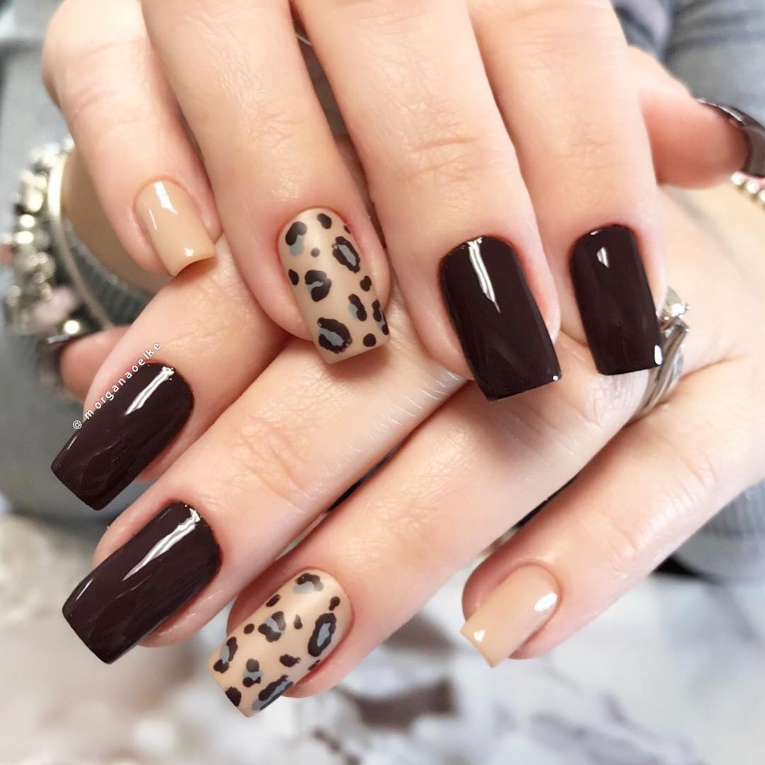 Animal-Print 10 HOTTEST NAIL TRENDS TO TRY IN 2020