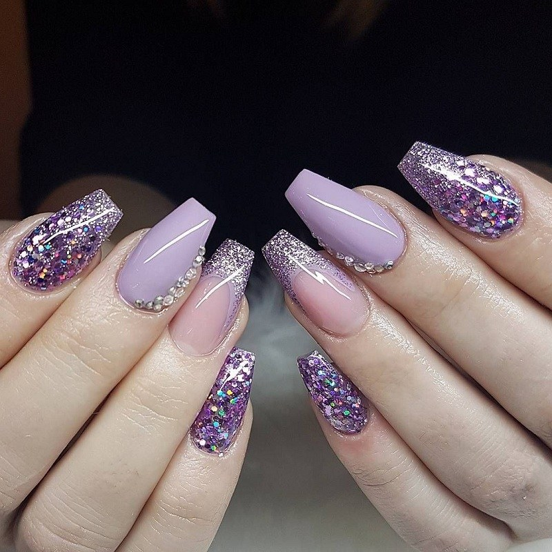 Bnail-art-acrylic-Ideas-For-Ladies-05-ohfree.net_ Stylish New Acrylic Nail Art At Home For Fashionable Women To Try 2020