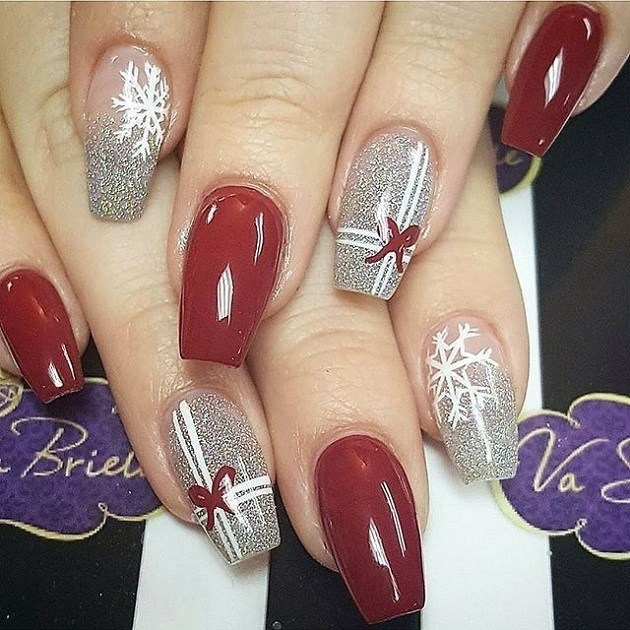 Bnail-art-acrylic-Ideas-For-Ladies-06-ohfree.net_ Stylish New Acrylic Nail Art At Home For Fashionable Women To Try 2020