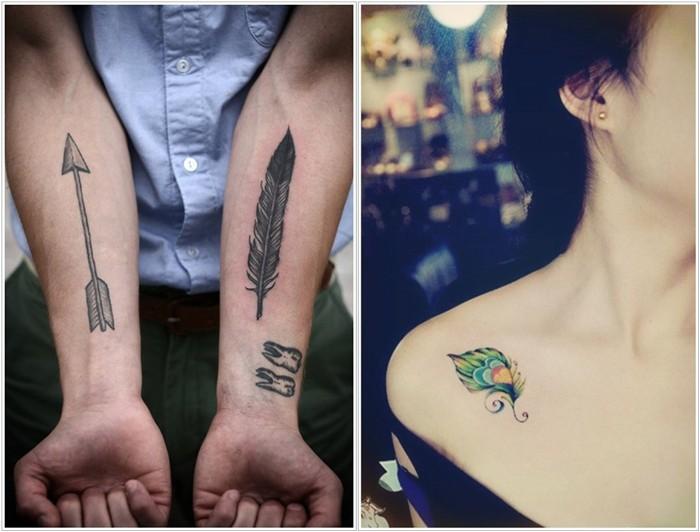 Brilliant-Feather-Tattoo-Designs-to-Impress- Brilliant Feather Tattoo Designs Try In 2020