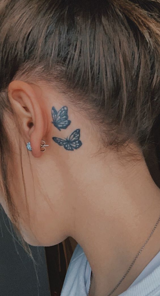 Impressive-and-Meaningful-Butterfly-Tattoos-That-Rock-12 27 Impressive and Meaningful Butterfly Tattoos That Rock 2020