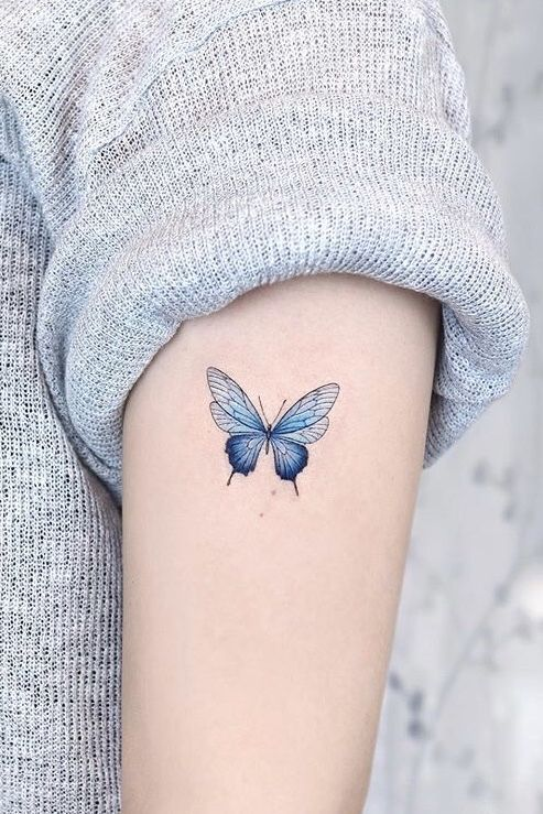 Impressive-and-Meaningful-Butterfly-Tattoos-That-Rock-23 27 Impressive and Meaningful Butterfly Tattoos That Rock 2020