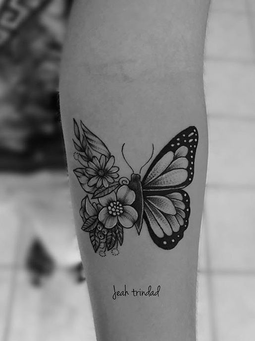 Impressive-and-Meaningful-Butterfly-Tattoos-That-Rock-7 27 Impressive and Meaningful Butterfly Tattoos That Rock 2020