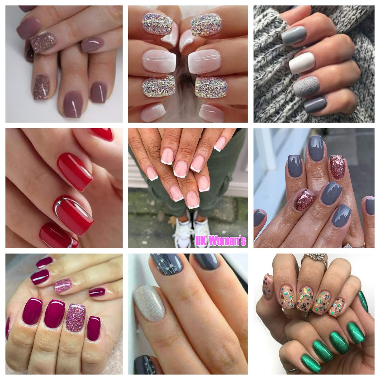Short-Nails-Art-Designs-To-Try-1-1 Newest Short Nails Art Designs To Try In 2020