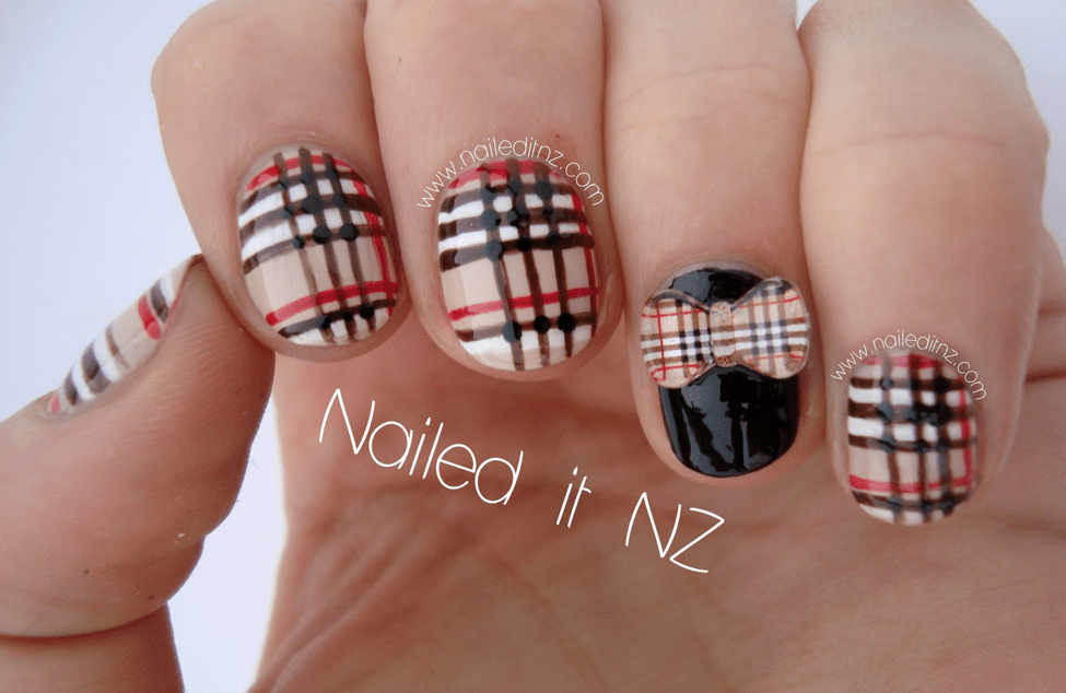 Uniform-Nail-Art 10 Acrylic Nail Designs For You To Impress Everyone