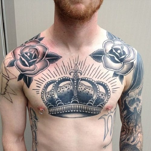 crown-tattoos-14-1 20 Brilliant Crown Tattoos You'll Need To See